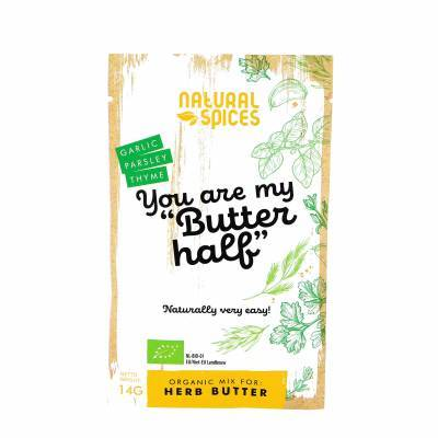 2038 - Natural Spices you are my butter half 14 gram