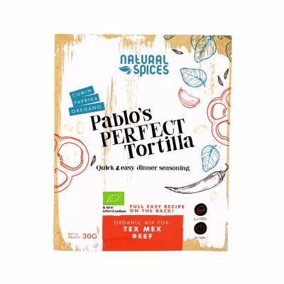 2047 - Natural Spices pablo's perfect tortilla 30 gram
