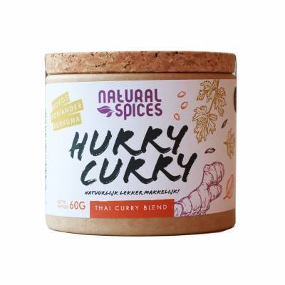2003 - Natural Spices hurry curry 60 gram