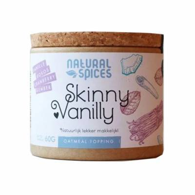 2008 - Natural Spices skinny vanilly 50 gram