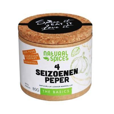 1991 - Natural Spices 4 seizoenen peper 80 gram