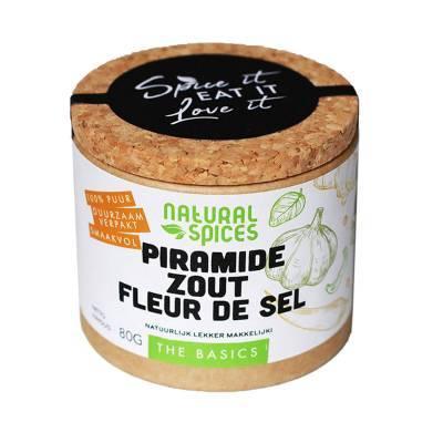 1993 - Natural Spices fleur de sel piramindezout 80 gram