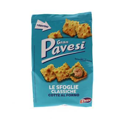 9668 - Pavesi Toastjes Naturel Zeezout 190 gr