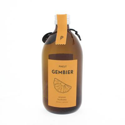 4878 - Pineut gembier ananas & kurkuma 400 ml