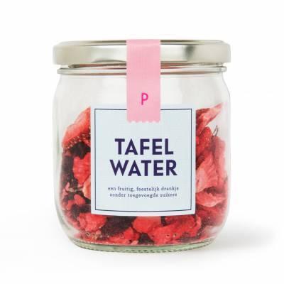 4898 - Pineut tafelwater rfill aardbei & hibiscus 1 stuk