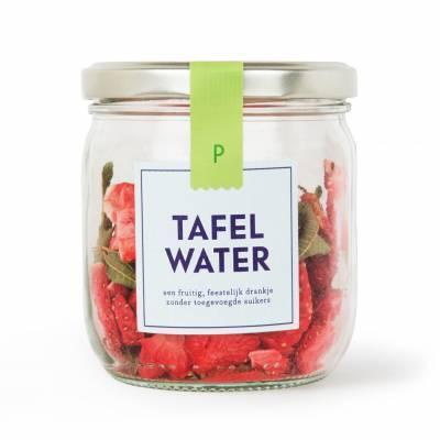 4900 - Pineut tafelwater rfill aardbei & verveine 1 stuk