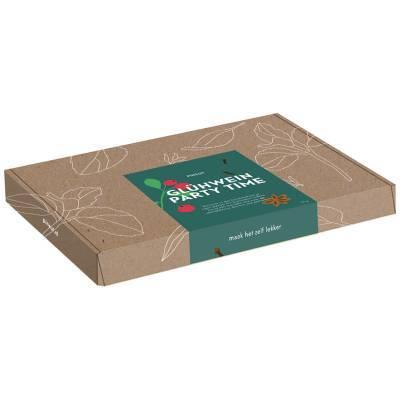 4921 - Pineut brievenbuscadeau glühwein rood 50 gram