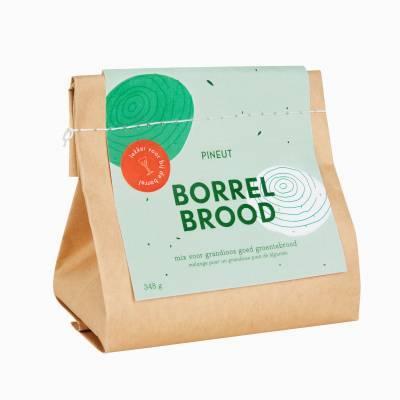 4910 - Pineut borrelbrood groentebrood 350 gram