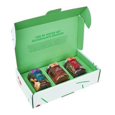 4839 - Pineut winterdrankjes geschenkenpakket 3pack gram