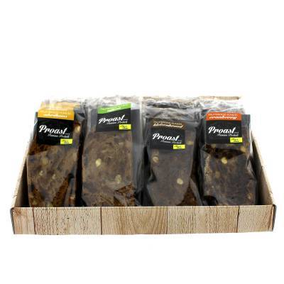 17254 - Proast display fruitbrood 6 smaken 2 stuks 2400 gram