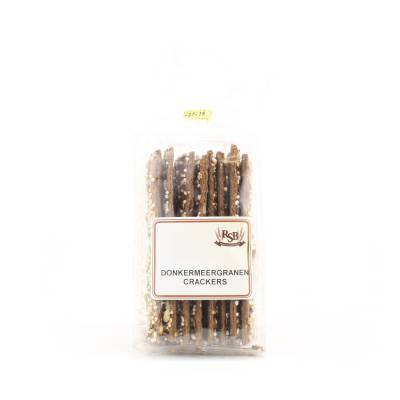 19923 - Ribbink donker meergranencrackers 160 gram