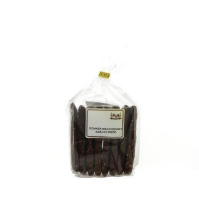 19926 - Ribbink donker meergranenknäckebröd 190 gram