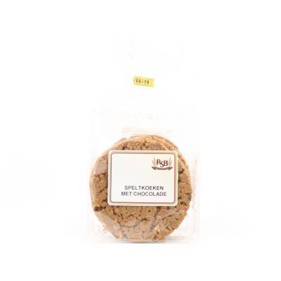 19934 - Ribbink speltkoek chocolade 172 gram