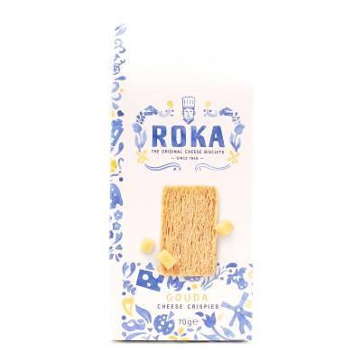 6560 - Roka cheese crispies gouda cheese 70 gram
