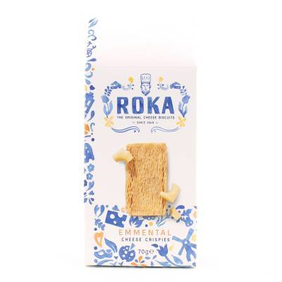6561 - Roka cheese crispies emmental 70 gram