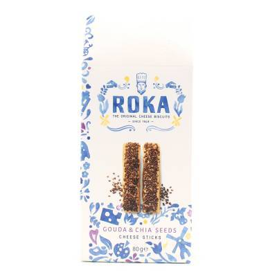 6564 - Roka cheese sticks chia seeds 80 gram