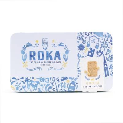 6566 - Roka cheese crispies gouda 140 gram