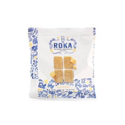 6567 - Roka mini cheese crispies gouda 25 gram