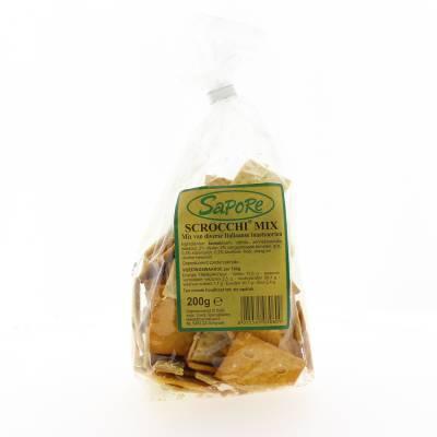 2347 - Sapore scrocchi mix 200 gr 200 gram