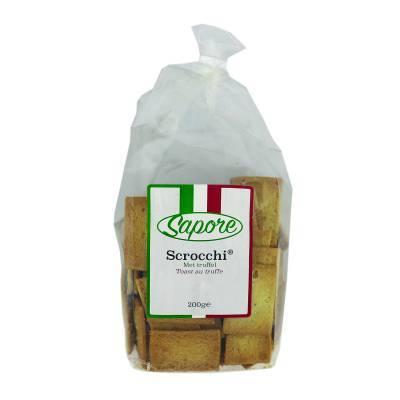 2349 - Sapore scrocchi met truffel 200 gram