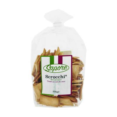 2346 - Sapore scrocchi met zeezout 200 gram