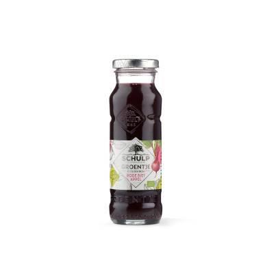 1876 - Schulp groentje rodebiet&appel BIO 200ml 200 ml