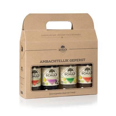 1885 - Schulp minibox voor 4 200 ml flesjes 1 stuk