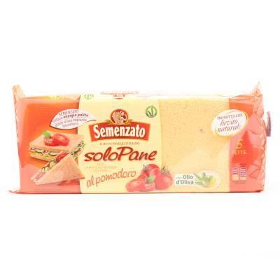 8382 - Semenzato pane per tramezzini tomaat 250 gram