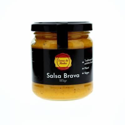 19788 - Serra de Rodes salsa brava vegan 185 gr