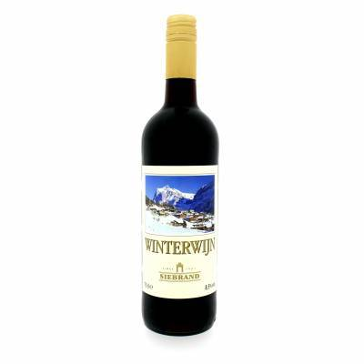 1698 - Siebrand winterwijn glühwein goud 750 ml