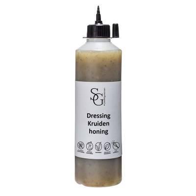 2202G - Smaakgeheimen kruiden honing dressing grootverpakking 500 ml