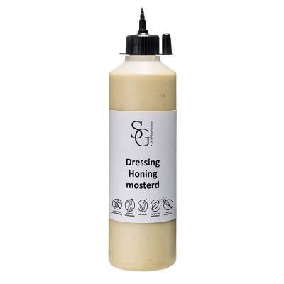 2203G - Smaakgeheimen honing mosterd dressing grootverpakking 500 ml