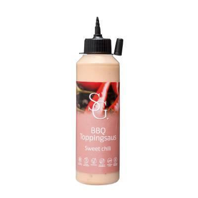2302 - Smaakgeheimen bbq topping sweet chili 250 ml