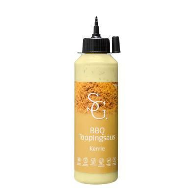 2306 - Smaakgeheimen bbq topping kerrie 250 ml