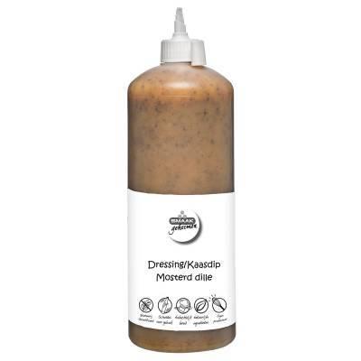 2292H - Smaakgeheimen kaasdip mosterd-dille grootverpakking 1000 ml