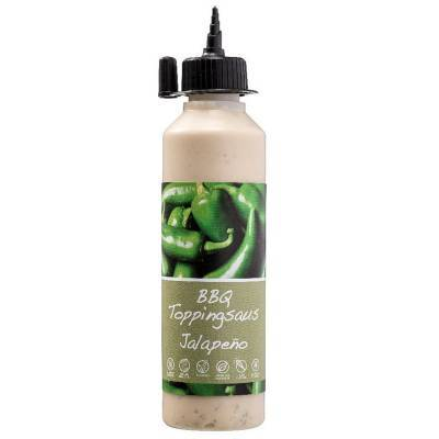 2303 - Smaakgeheimen bbq topping jalapeño 250 ml