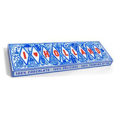 9546 - Snor reep melk I love holland 200 gram
