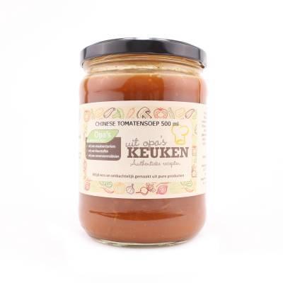 3802 - Soepen van Opa chinese tomatensoep 500 ml