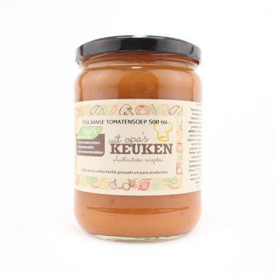 3811 - Soepen van Opa toscaanse tomatensoep 500 ml
