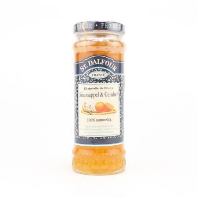 347806 - St. Dalfour sinaasappel en gember 284 gram