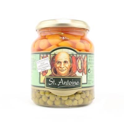 6705 - Sint Antoine doperwten en wortelen 340 gram