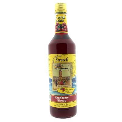 22111 - Streeck cranberry-siroop 700 ml