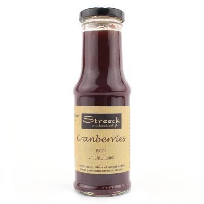 22123 - Streeck cranberry vruchten saus 200 ml