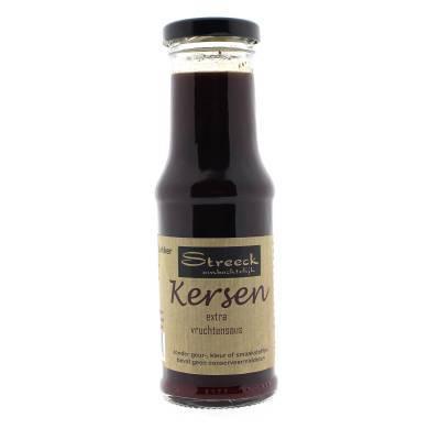 22124 - Streeck kersen vruchten saus 200 ml