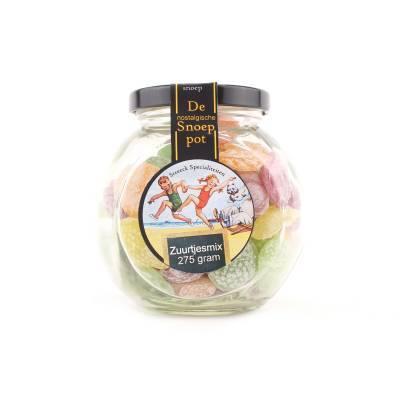 22204 - Streeck zuurtjes mix bon bon pot 275 gram
