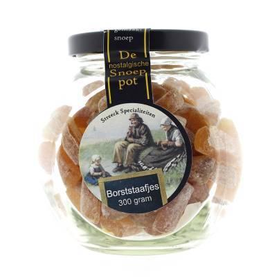 22209 - Streeck borststaafjes met honing pot 300 gram