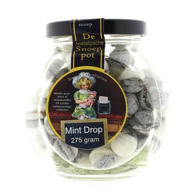 22210 - Streeck drop met mint ballen pot 275 gram