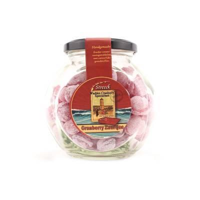 22213 - Streeck cranberry zuurtjes pot 300 gram