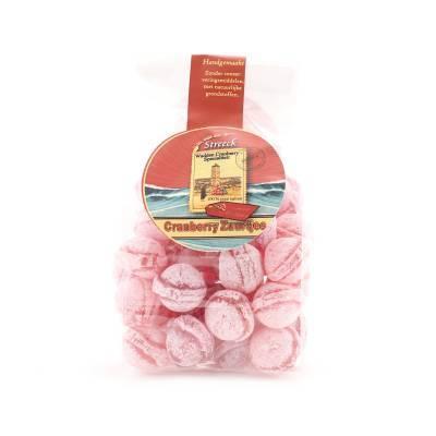 22243 - Streeck cranberry zuurtjes zakje 150 gram