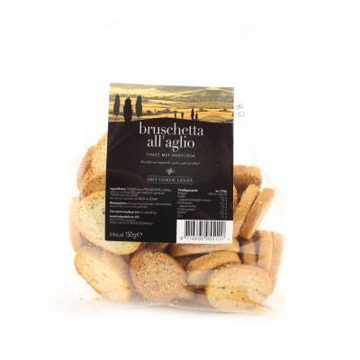 22622 - Streeck bruschetta knoflook toast zak 150 gram